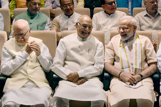 lk advani, lk advani news, presidential election 2017, lk advani ram nath kovind, ram nath kovind president, why advani is lucknow, advani modi, narendra modi, amit shah, story of Advani, advani modi kovind