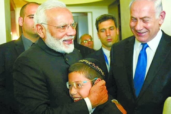 india, israel, modi israel visit, Benjamin Netanyahu, modi in israel