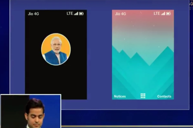Jio Phone to come with PM Narendra Modi app