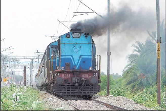 Indian Railways,DEMUs,CNG,Suresh Prabhu ,CNG substitution system,Mission 41K, railways solar owered demu trains, what isMission 41 K
