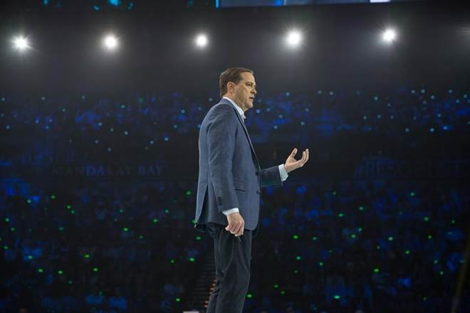 Cisco CEO, Chuck Robbins, Intuitive Network, network smart, secure, innovation, technology