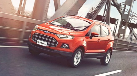 Current Ford EcoSport for representation purpose