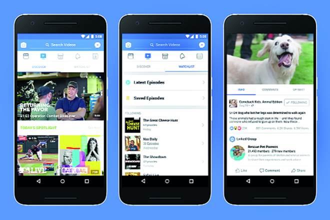 Facebook, facebook video, video channel, US market,Facebook's TV app,new platform,social network company