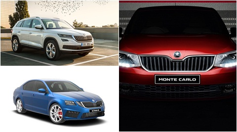 Skoda to launch three new models this year