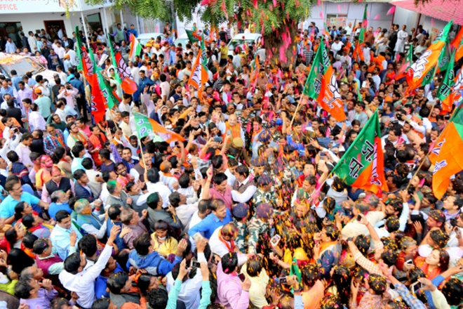 bjp, bjp corporate donations, corporate donations to bjp, corporate donation to saffron party, political donations, election commission, association for democratic report, adr, adr report on corporate donations, election in india, bjp news