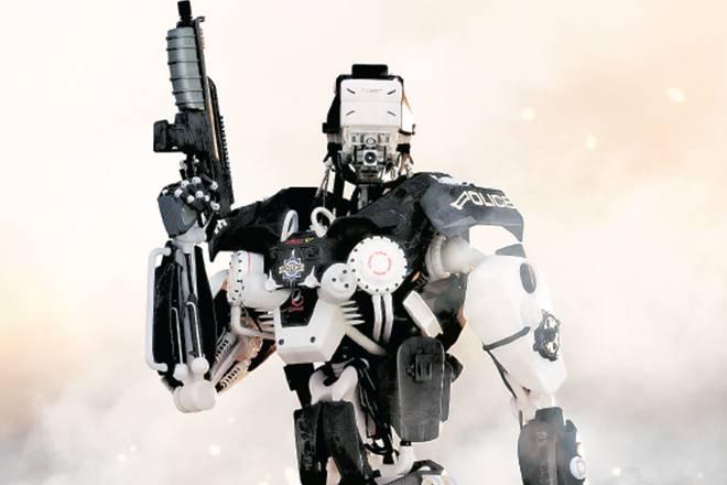 Hyderabad, H-Bots, robot, designing police robot