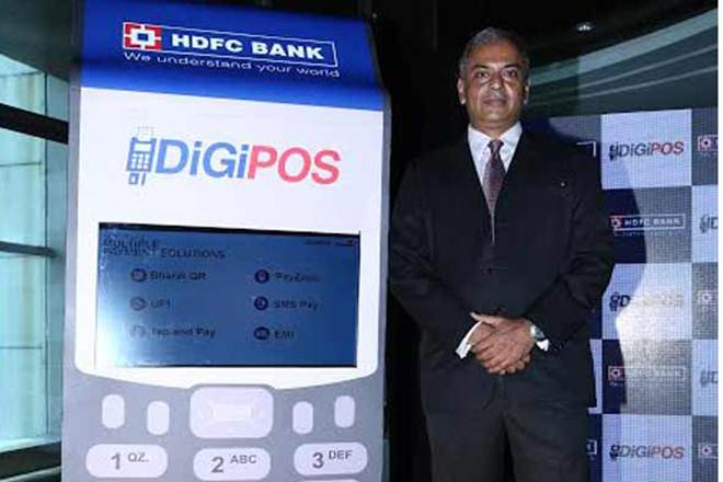 hdfc bank, digipos machines, Point of sale machines, digital payment machines, PoS machines, digital PoS machines, SMS pay options, HDFC digitalization drive