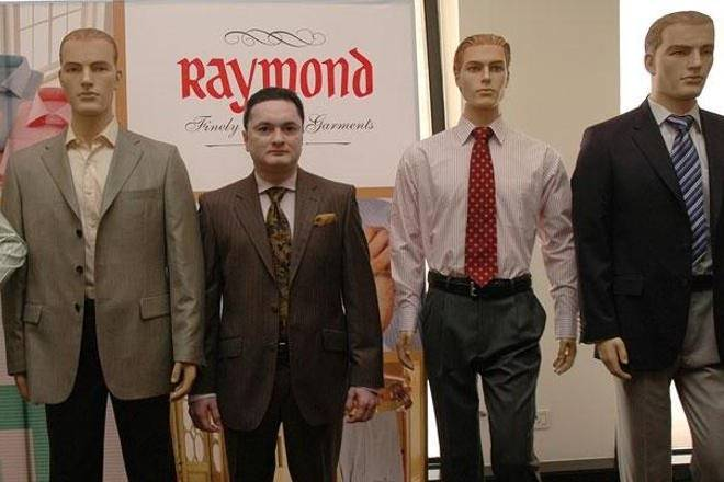 Raymond, Manufacturing, retailing, stores