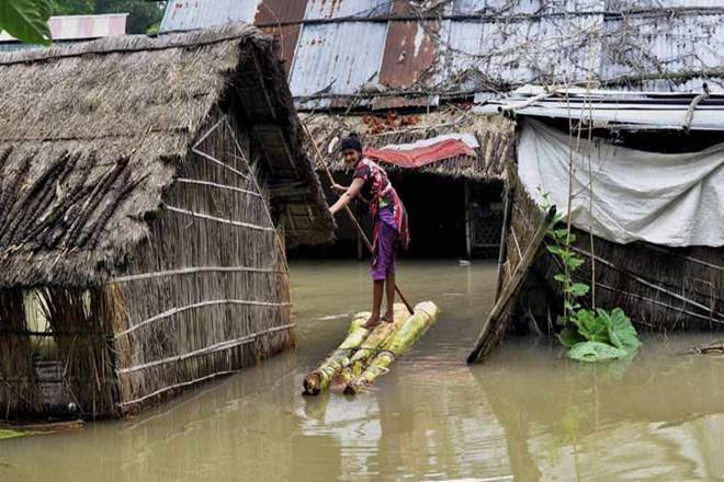 Floods and drought IN INDIA,India Meteorological Department data, Meghalaya,Manipur,Karnataka,Odisha ,West Bengal,Gujarat, Sunita Narain Extreme weather events had been long predicted to be a fallout of climate change, and we might already be experiencing them, Sunita Narain,