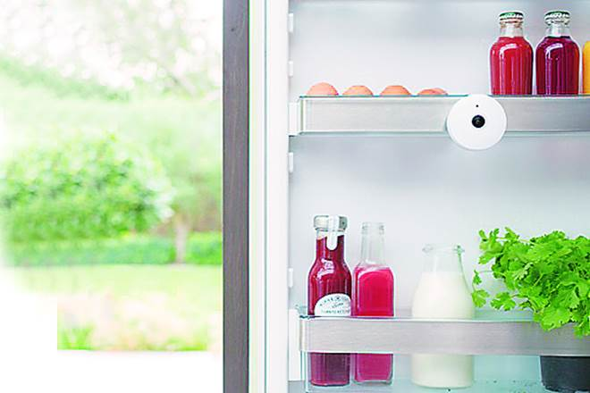 fridge camera, wireless camera,Wireless fridge camera,food waste, waste food,curb food wastage,second-largest chain of supermarkets