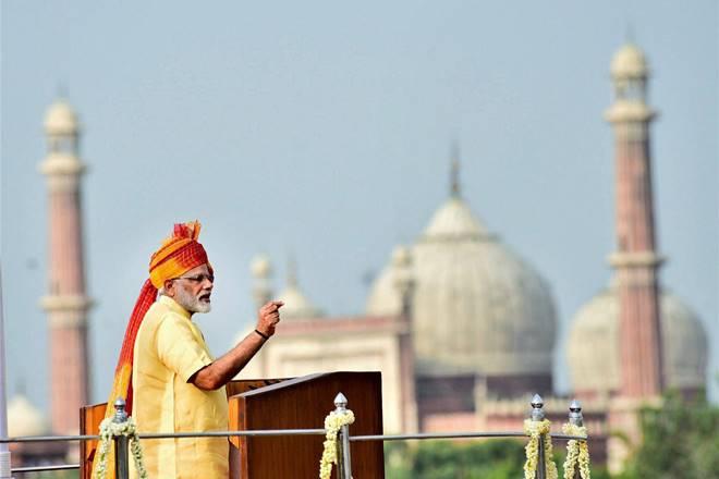 Independence Day,Manoj Mukund Naravane,Vijay Singh, Narendra Modi,Defence Ministry,Red Fort address
