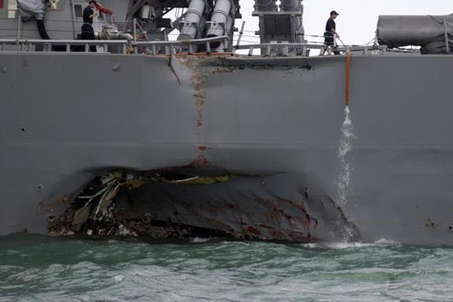 US sailors, warship crash, US warship, US warship crash, US Rep Rodney Davis, US warship collided, oil tanker collission