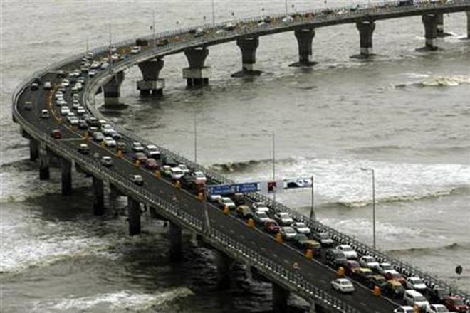 Bandra Worli sea link, Bandra Worli sea link mumbai, mumbai Bandra Worli sea link, Bandra Worli sea link traffic, bwsl