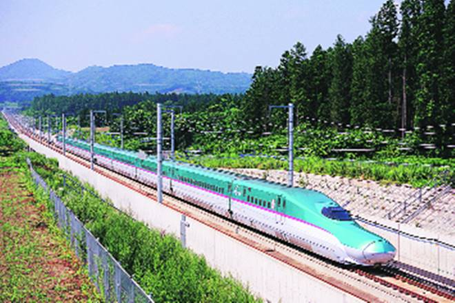bullet train, bullet train launched in india, bulled train work begun in india