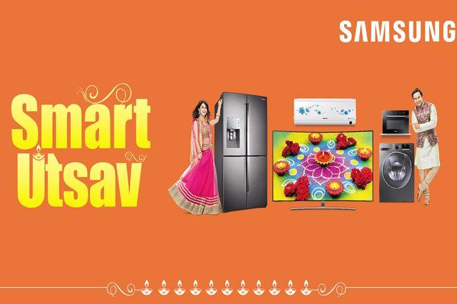 Samsung sale, samsung smart utsav, samsung offers, samsung galaxy, samsung galaxy S8+, Samsung smartphone, samsung sale, samsung festival, festival sale, festival offers, diwali 2017, diwali sale, samsung india, samsung india sale, offers on mobiles