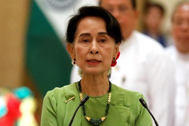 Suu Kyi,Aung San Suu Kyi,Rohingya crisis,Rohingyaviolence,Rohingya Muslims,Rohingyaimmigrants,Suu Kyi to address citizens of Myanmar,State of the Union address