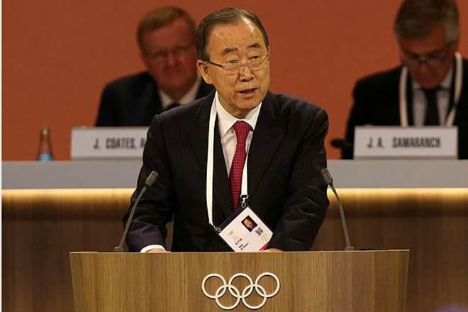Ban Ki-moon,Former UN chief, north korea, south korea,UN, united nations,Moon Jae, mike pence