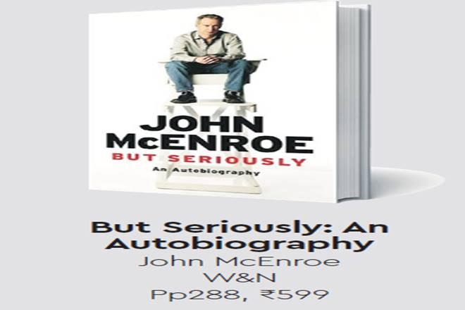 John McEnroe,John McEnroe autobiography,Patty Smyth, John McEnroe autobiography review