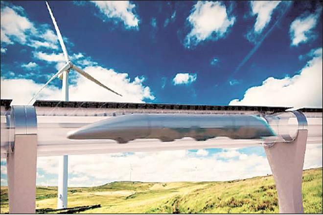 Vijaywada and Amravati, hyperloop betweenVijaywada and Amravati,Elon Musk,Andhra Pradesh,APEDB,Kyoto Protocol,Ahmedabad-Mumbai High-Speed Rail, japan railways