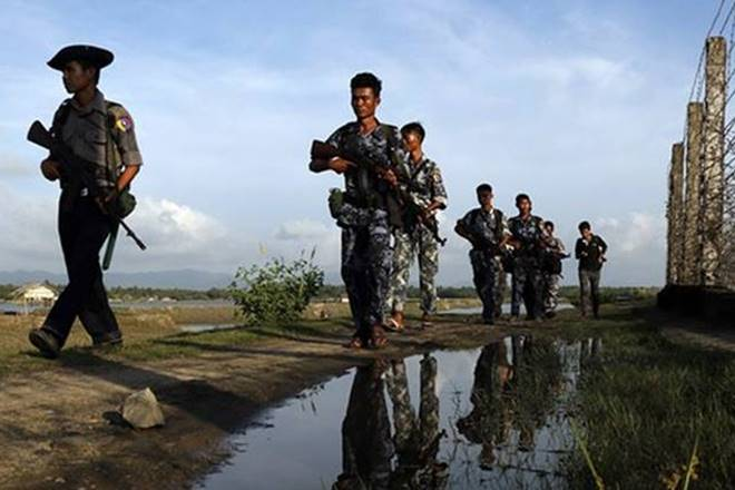 Britain, Myanmar military training, military