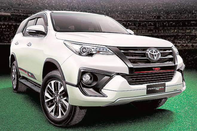 Toyota Fortuner, TRD, SUV