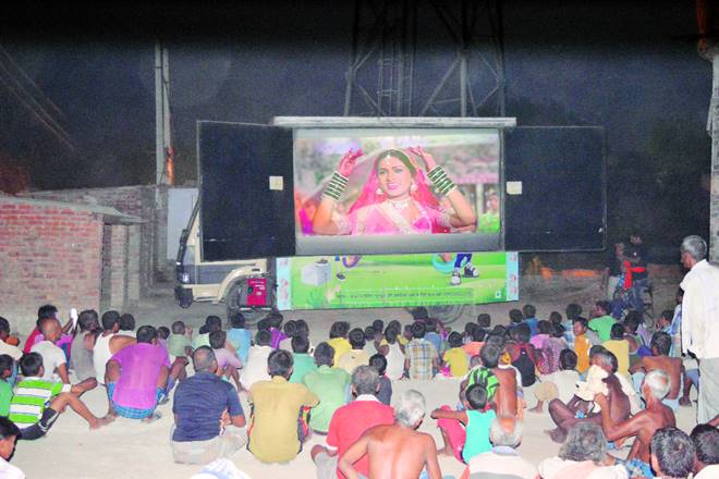 rural india, cinema in rural india, rural india entertainment