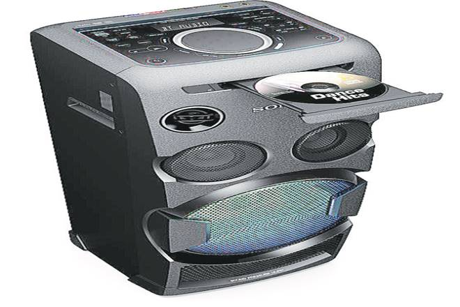 Sony MHC-V50D, Sony MHC-V50D  audio system, review of Sony MHC-V50D, features of Sony MHC-V50D , Fiesta app, sony, Bluetooth speakers, USB drive