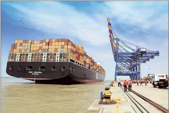 Adani Ports,ADSEZ,PSA terminal,Ebitda,Katupalli, hazari,Exports, commodities