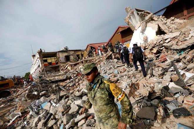 Earthquake, Mexico, Twitter, Xinhua