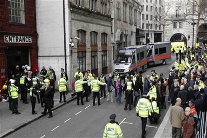London Tube train, Terror attack, London