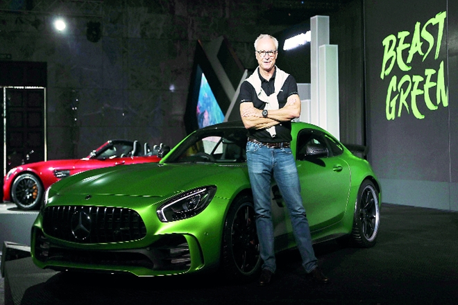 luxury cars category, Mercedes-Benz, Roland Folger, Mercedes-Benz India
