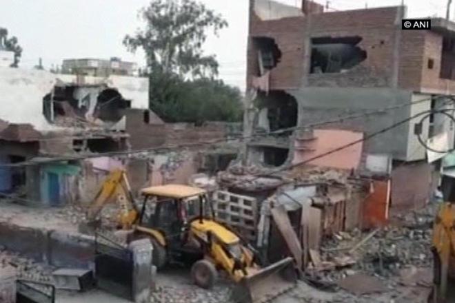 Cylinder Blast, UP, Uttar Pradesh, Aligarh, Gas Cylinder Blast