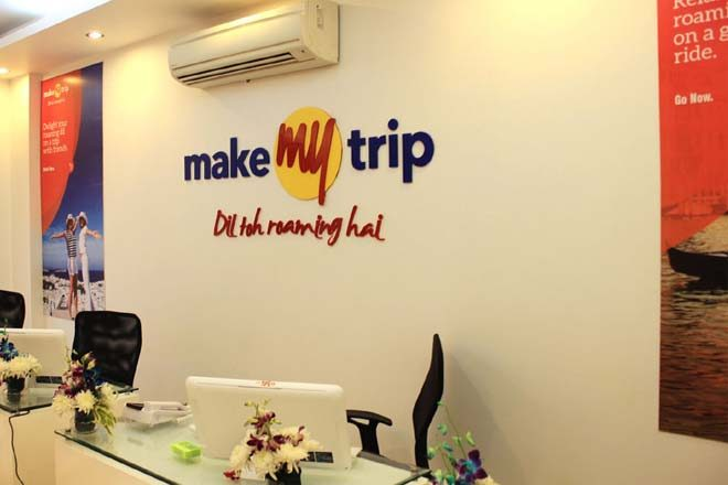 MakeMyTrip,online travel market,IRCTC,GoIbibo,Ashish Kashyap,Indian Railways,Alibaba, paytm,Oyo, cleartrip,Via.com