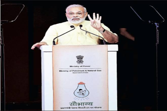 Narendra Modi,Saubhagya scheme, all aboutSaubhagya scheme, news aboutSaubhagya scheme,Pradhan Mantri Sahaj Bijli Har Ghar Yojana,DDUGJY,LED lights,Modi government