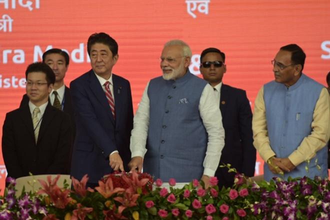 narendra modi, shinzo abe, modi abe meet, modi bullet train, modi bullet critics, india news, mumbai ahmedabad bullet train