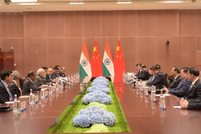 modi xi meeting, narendra modi, xi jinping, narendra modi xi jinping meeting, brics summit, brics summit 2017, brics declaration