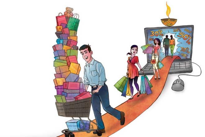 e-tailers, ad expenditure