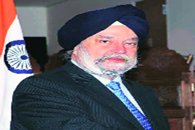 urban affairs minister HS Puri, HS Puri