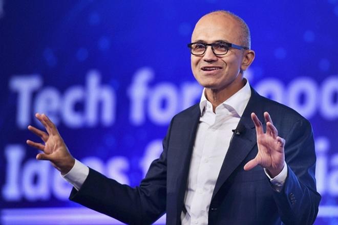 Satya Nadella, Microsoft, Microsoft CEO Satya Nadella, Green card, Satya Nadella wife, Satya Nadella wife Anu