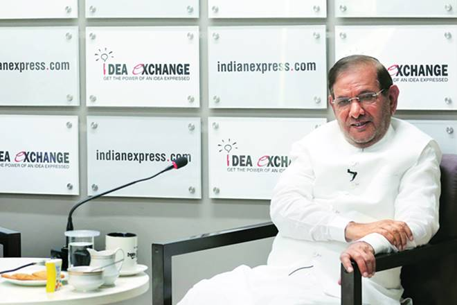 Sharad Yadav, sharad yadav idea exchange, idea exchange indian express, sharad yadav interview