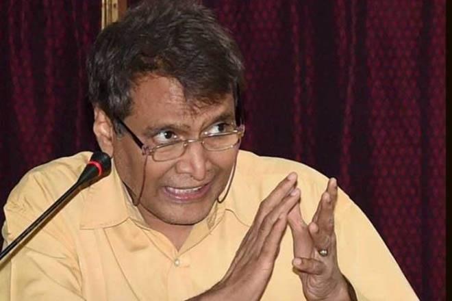 Suresh Prabhu, exports, GDP