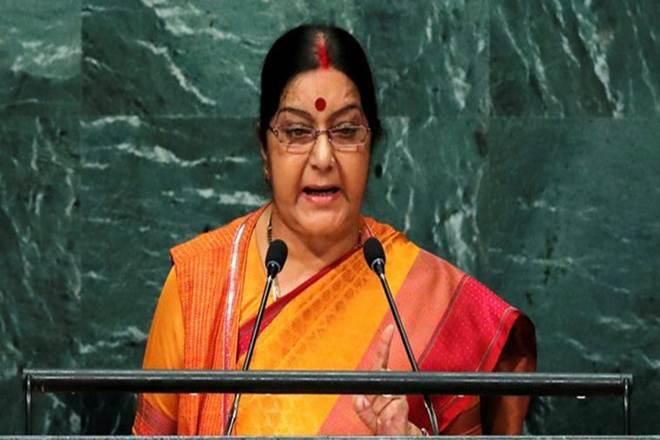 India at UNGA, Sushma Swaraj, India External Affair, New York, New Delhi, Climate Changing, India at United Nations, Sushma Swaraj speech at UN, Pakistan, Terrorism, Islamabad