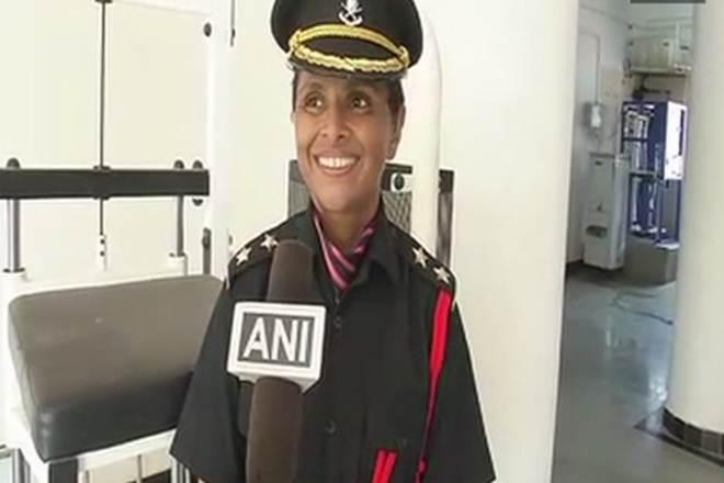 Swati Mahadik, Colonel Santosh Yashwant Mahadik wife, Santosh Mahadik wife, woman Army Officer, female army officer, swati mahadik army officer, woman leuitant