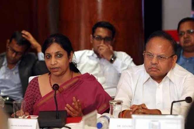 Telecom industry,Aruna Sundararajan,Department of telecommunications secretary,Telecom Commission,IMG,Trai ,NTP ,spectrum charges