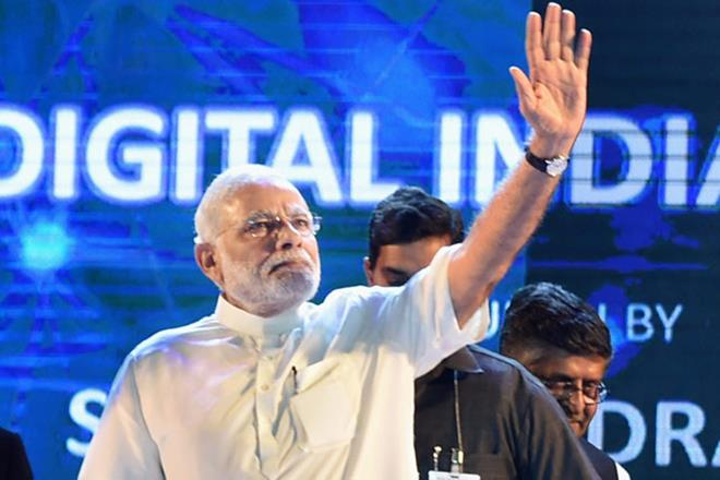 Digital India, Digital India campaign, Digital India progress, Narendra Modi digital india, GDP, GST, RERA, UDAY, DBT, bankruptcy law, inflation, inflation in india, demonetisation, Jan-Dhan accounts, FDI in e-commerce, Digitisation, Digitisation in india