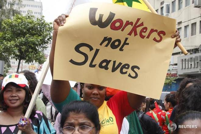 domestic workers, way to hell, government hurting, India's sad history of trade unionism