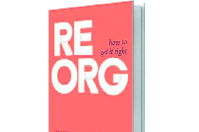 reorg book review, reorganisation book review, tips to execute plans in company