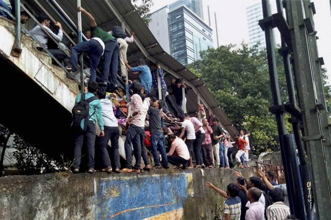 Elphinstone stampede, Elphinstone stampede tragedy, Elphinstone stampede incident, Elphinstone stampede in mumbai, shiv sena, bjp on Elphinstone stampede, Piyush Goyal, indian railways, Sidharth Nath Singh, Yogi Adityanath, Baba Raghav Das hospital, Elphinstone, government on Elphinstone stampede