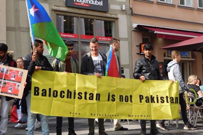 Baloch activists, free Balochistan Movement, China-Pakistan nexus, Germany,Hyrbyair Marri