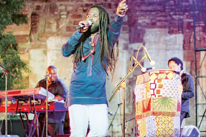 Rocky Dawuni, Art and activism, Humanitarian activist, music